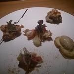 インカメラ コン テラッツァ - 料理写真:前菜 フォアグラのムース他