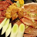 田園焼肉ハウス - Aセット(タレ皿)