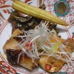 日本料理 つる家  - 地鶏の山椒焼き