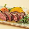 美山cafe - 料理写真:一番人気の黒毛和牛のグリル