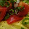 ブーミン - 料理写真:アボカドのサラダ ワサビドレッシングがやっぱり美味しい 450円