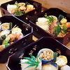 田中家 - 料理写真: 出し巻玉子、鰆西京焼、鴨ロース、車海老、小芋、飛龍頭、茄子のオランダ煮など!要予約です!