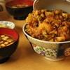 天健 - 料理写真:かき揚げ丼