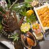 魚庄 - 料理写真:『豪快漁師盛』で海の幸を心ゆくまで堪能