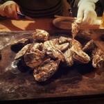 かき小屋フィーバー222 - 焼牡蠣