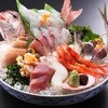 鯛家 - 料理写真:迫力満点の「大漁刺盛り」