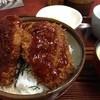 一二三食堂 - 料理写真:ヒレソースかつ丼。