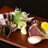 餃子日和わらん 越後のわらやき家 - 料理写真:カツヲのわらやき