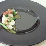 ヌーヴェル・キュイジーヌ タカハシ - ¥3800ランチの前菜