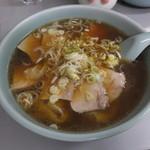 中華こんどう軒 - 又焼雲呑麺