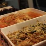 キッチン テラ - 毎日替わる小皿料理。是非ワインとともに楽しんで。