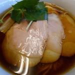 らぁ麺屋 飯田商店 - 最新1000えん 醤油チャーシュー麺2013.12