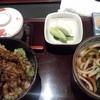 若竹本店 - 料理写真:半天丼うどんセット 1680円