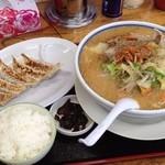 ねぎっこ - 野菜味噌餃子セット1000円