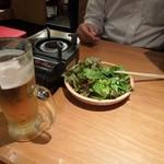 からげんき - お通しのサラダ315円 H25.9