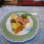 キッチン森本 - 森本ランチのデザート