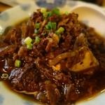 まつ惣 - (2013/10月)「自慢の肉豆腐」
