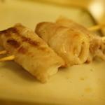 串鳥 - 新生姜の豚巻き