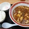 たんぽぽ - 料理写真:麻婆麺(ごはん+温泉卵付)