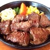 パスタハウス六番館 - 料理写真:サイコロステーキ。