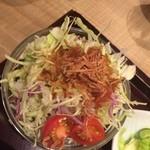 タレカツ - サラダ