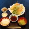 DININGBAR - 料理写真:天ぷら定食(ランチ)