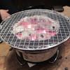 新世界 - 料理写真:熱々の炭火で