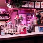 タイ屋台居酒屋 ダオタイ - ピンクの照明