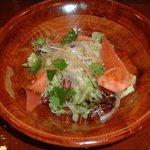 キッチン創 - 数年前食べたグリーンサラダ