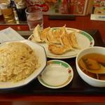 東秀 - Bランチ¥490+餃子5個¥190