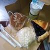 大正堂 - 料理写真:手前より右回りに 酒まんじゅう:\120、シュードーム:\130、抹茶プリン:\260、チーズケーキ:\280、ブルーベリー:\250