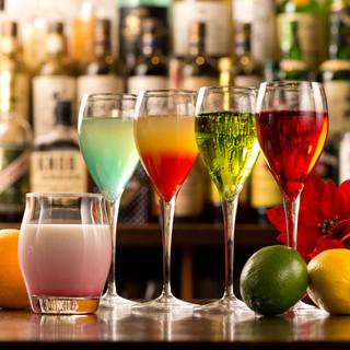 【日本酒&カクテル】種類豊富にご用意ございます♪