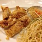 23152780 - 日替りランチの鶏の唐揚げ