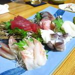 魚・肴・処 ひでまる - 刺し盛り(3人前)