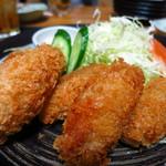 魚・肴・処 ひでまる - カキフライ(5ヶ)680円