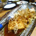 魚・肴・処 ひでまる - 豆腐ステーキ(ひでまる特製)580円