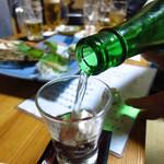 魚・肴・処 ひでまる - 京都神聖(純米吟醸)680円