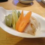 旬菜すし鮮 きずな屋 - 旬菜ピクルス