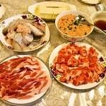 四川家庭料理 珍々 - 2013.12 四川火鍋の具材その1