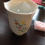 櫻舘 - 料理写真:お水のコップ