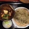 田中家 - 料理写真:鴨肉汁そば850円全景