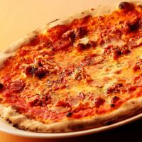 ☆石窯で焼いたピザ