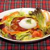 ドリア&グラタンなつめ - 料理写真:ふんわりハンバーグが味わえる『半熟玉子のせロコモコ』