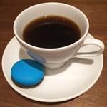 ジョエルデュラン - お疲れ様のコーヒー☆ラベンダーのマカロン付きで950円