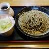 手打ちそば 小松屋 - 料理写真:手挽き石臼蕎麦(二八蕎麦)