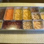 カルナータカー - 料理に使ってる豆