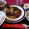 Riike - 料理写真:牛肉と長葱の炒め@800    これにコーヒーが付く