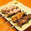 大提灯 - 料理写真:ナンコツ、タン、シロ、レバー(各1串120円)