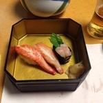 かに道楽 - かににぎり寿司