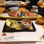 かに道楽 - 前菜